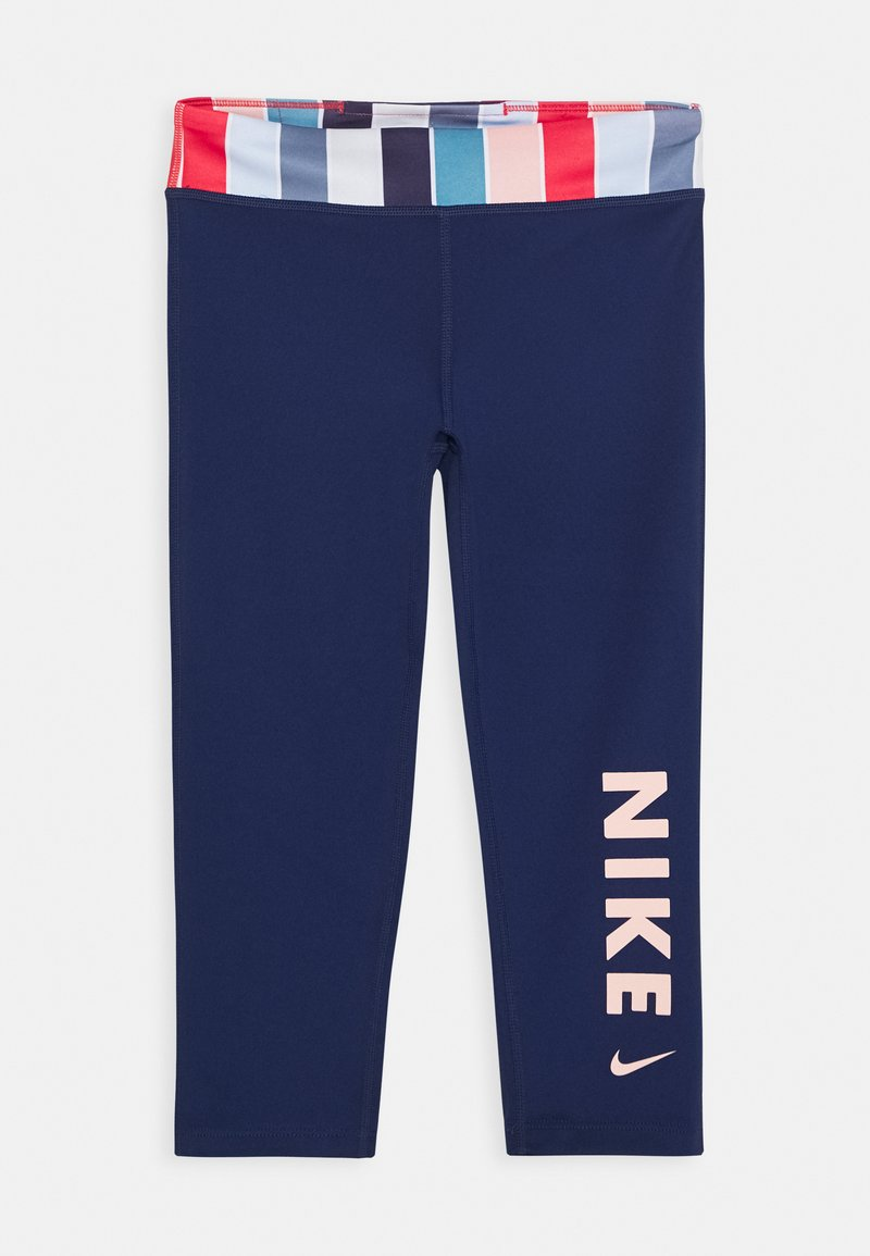 Nike Performance - Legging - blue void/track red/washed coral