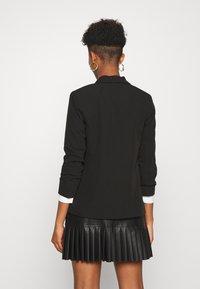 New Look - NAPLES RUCHED - Blazer - black - 2