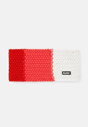 JAMIES FLAG  - Ear warmers - fieryred/divapink/white