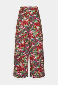 King Louie - MELODY PANTS SALINA - Pantalon classique - red - 1