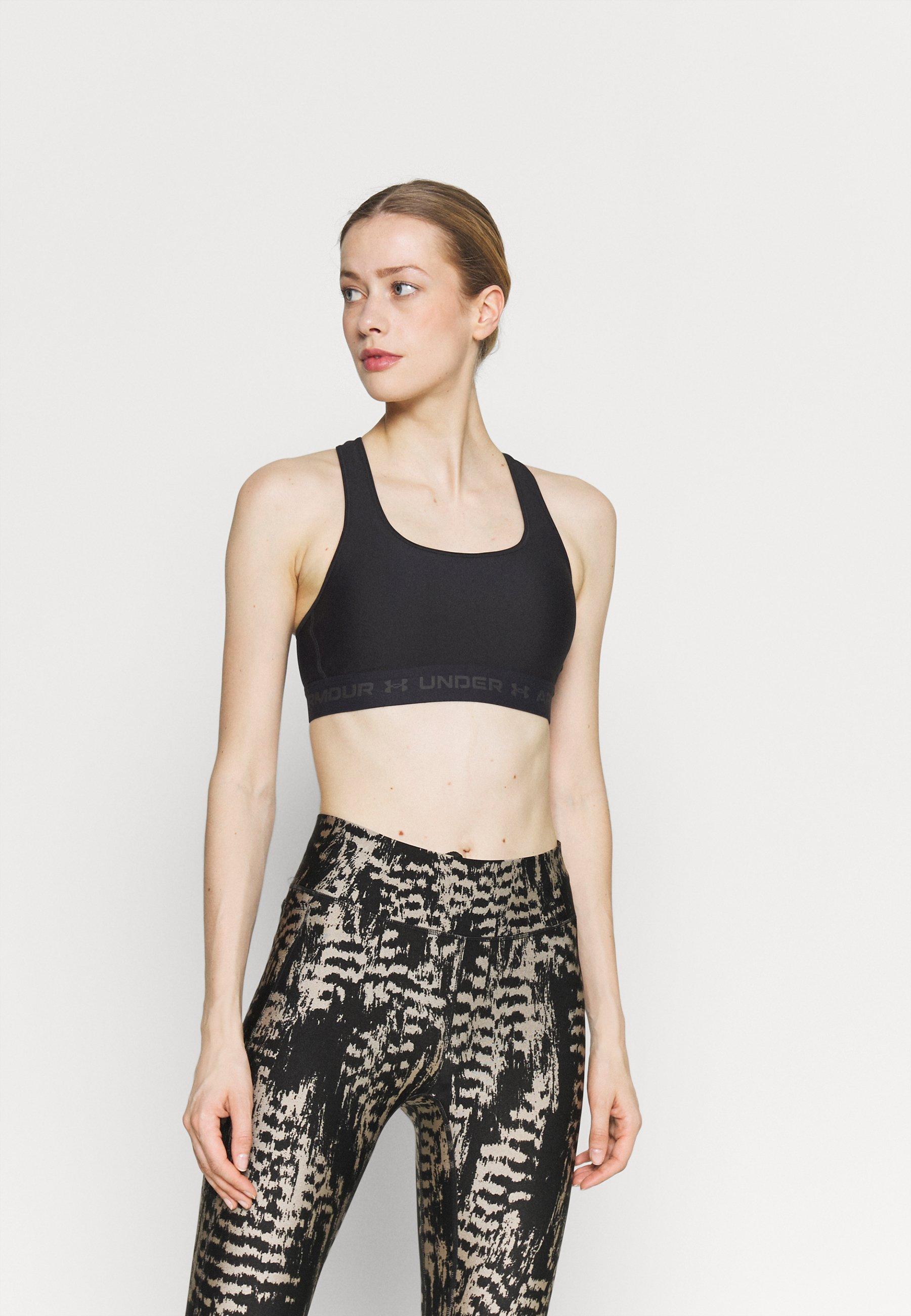 Women CROSSBACK MID BRA - Medium support sports bra