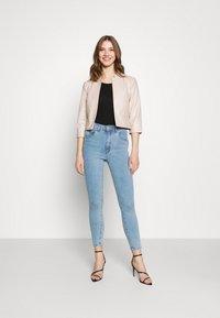 ONLY - ONLKIERA JACKET - Faux leather jacket - pumice stone - 1