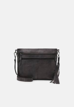 DELUXE - Across body bag - cool grey