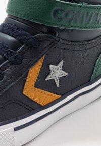 Converse - PRO BLAZE STRAP - Zapatillas altas - obsidian/midnight clover/saffron yellow - 2