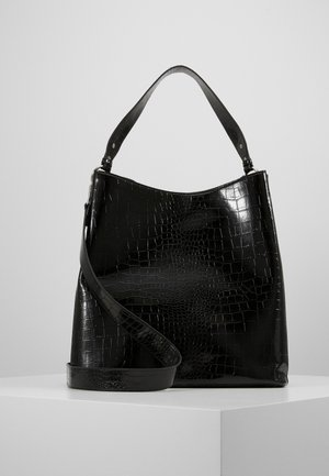 SOLID KAYNA BAG - Tote bag - black