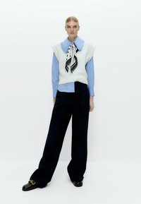 Uterqüe - Button-down blouse - blue - 1