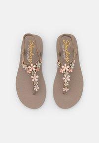 Skechers - MEDITATION - T-bar sandals - taupe - 5