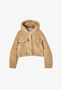 PULL&BEAR - MIT KAPUZE - Winter jacket - brown - 5