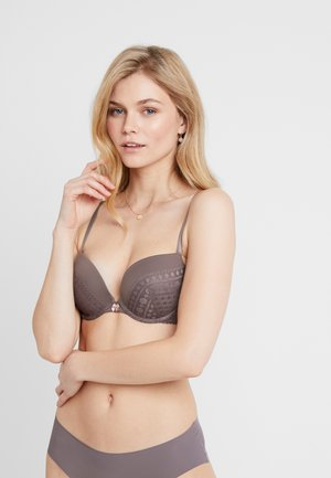 AURORAH - Push-up bra - taupe