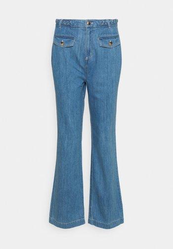 CAROL BRAID PANTS CANYON  - Bootcut jeans - bluestone blue