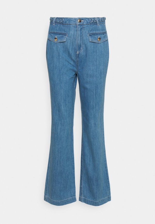 CAROL BRAID PANTS CANYON  - Jeans bootcut - bluestone blue