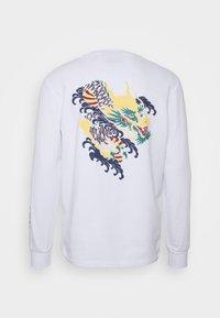 Criminal Damage - DRAGON SKATE - Sweatshirt - white - 1