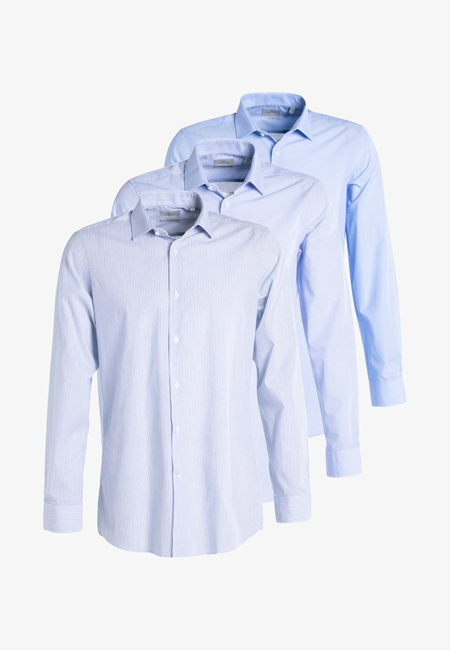 3 PACK - Shirt - blue