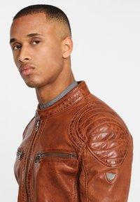 Gipsy - ARNY STUV - Leather jacket - cognac - 3