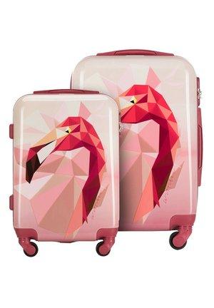 Wheeled suitcase - rosa