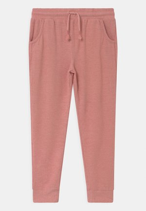 SUPER SOFT  - Tracksuit bottoms - earth clay