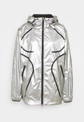 Běžecká bunda - silver
