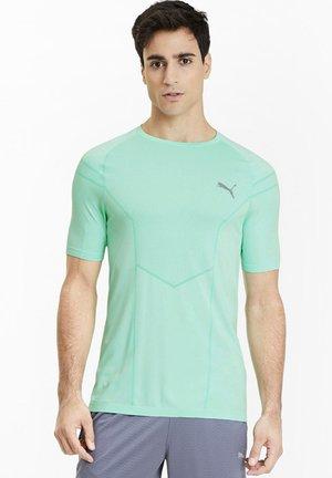 REACTIVE EVOKNIT  - T-shirt con stampa - green glimmer