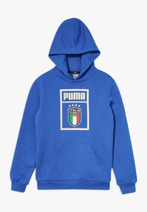 ITALIEN DNA HOODY  - National team wear - team power blue/team gold