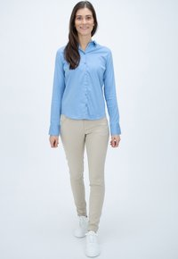 Mos Mosh - Button-down blouse - bel air blue - 1