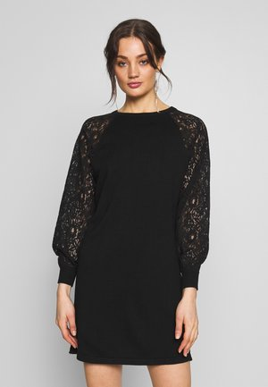 ONLOLIVIA LACE DRESS - Vestido informal - black