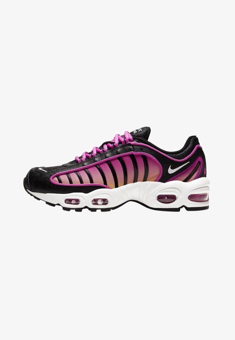 Nike Sportswear - AIR MAX TAILWIND - Sneakersy niskie - black/fire pink/dynamic yellow/white