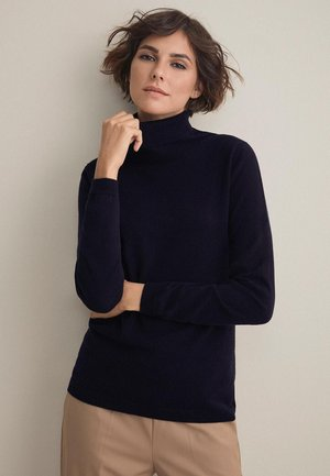 MIT LANGARM - Jumper - dark blue