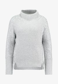 Marc O'Polo PURE - SLIGHTLY - Strikpullover /Striktrøjer - cement grey melange - 4