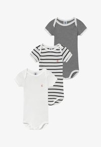 Petit Bateau - 3 PACK - Body - marshmallow/smoking - 3