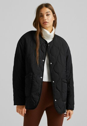 STEPP - Lehká bunda - black