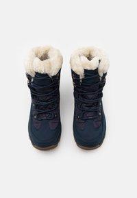 Jack Wolfskin - ASPEN TEXAPORE MID  - Winter boots - dark blue/blue - 3