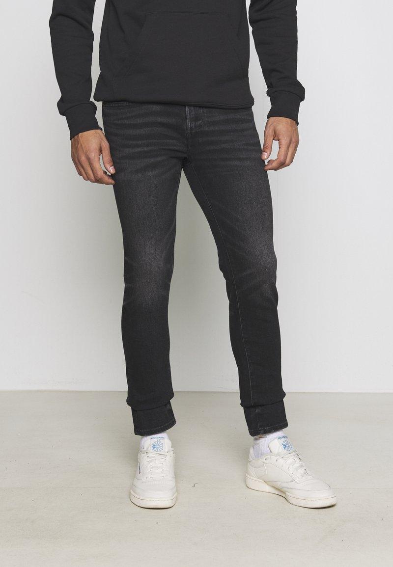 American Eagle - Slim fit jeans - washed black