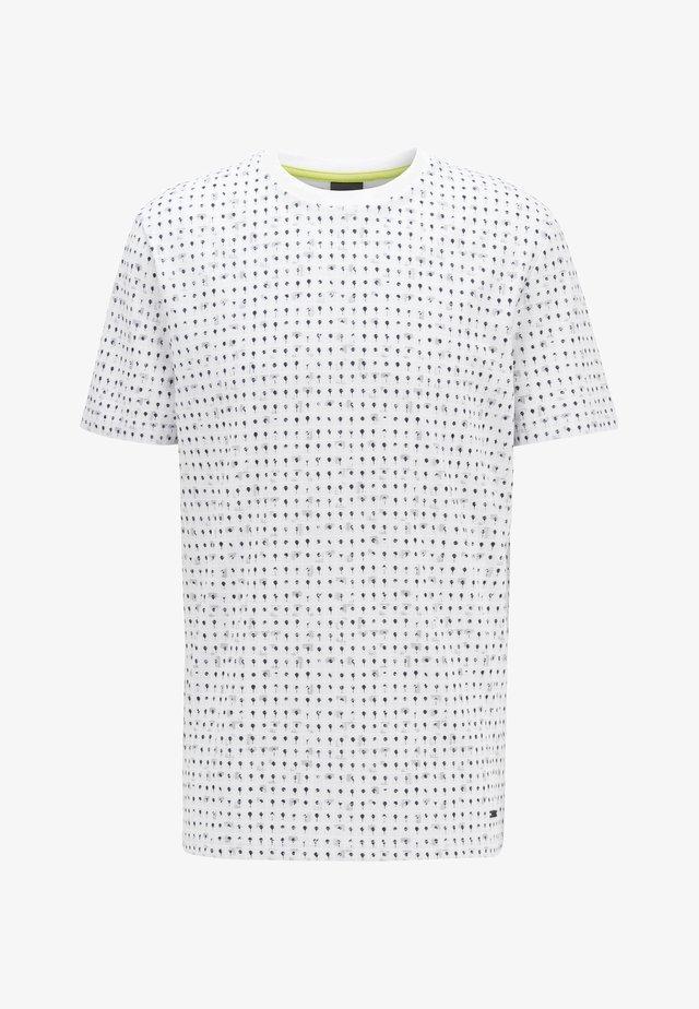 TEPOL - T-shirt con stampa - white