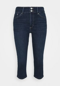 s.Oliver - Denim shorts - dark blue denim - 0