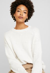 edc by Esprit - KNOTS - Strickpullover - off white - 3