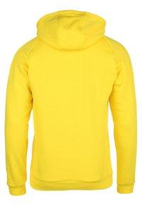 adidas Performance - CORE ELEVEN FOOTBALL HOODIE SWEAT - Hoodie - yellow - 1