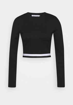 MONOCHROME MILANO - Long sleeved top - black