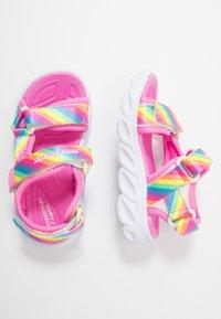 Skechers - HYPNO-SPLASH RAINBOW LIGHTS - Sandals - multicolor - 0