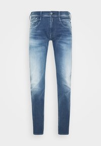 ANBASS HYPERFLEX RE-USED - Slim fit jeans - light-blue denim