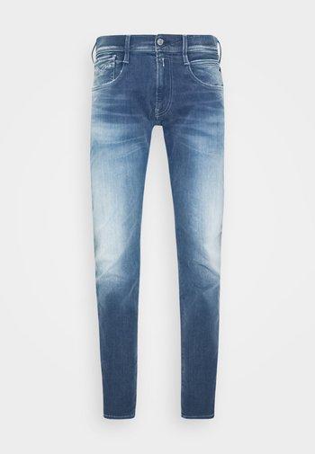 ANBASS HYPERFLEX RE-USED - Jeansy Slim Fit - light-blue denim