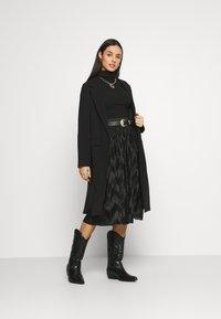 JDY - JDYMACI PLEATED SKIRT - Pleated skirt - black - 1