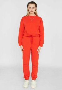 Noisy May - NMNORA - Tracksuit bottoms - fiery red - 3