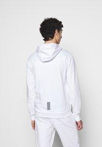 EA7 Emporio Armani - Zip-up hoodie - white - 2
