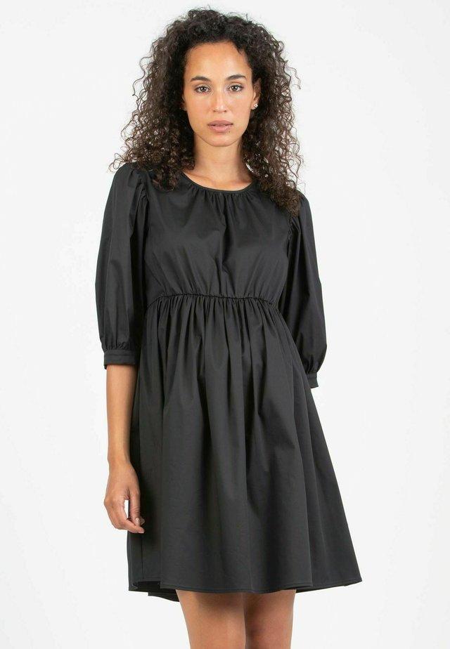 EMMA - Korte jurk - black