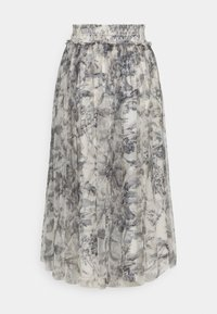 Needle & Thread - TOILE DE JOUY DELPHINE SMOCKED SKIRT EXCLUSIVE - A-line skirt - graphite/champagne - 1