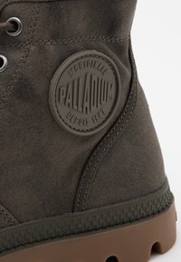 Palladium - PALLABROUSE WAX UNISEX - Lace-up ankle boots - major brown - 5