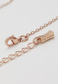 Ted Baker - ELVINA MINI BUTTON - Necklace - rose gold-coloured/baby pink - 2