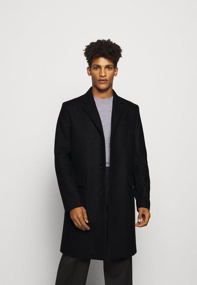 RHINE COAT - Klasický kabát - black