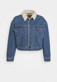 Levi's® - NEW HERITAGE SHERPA - Giacca di jeans - hot head - 4