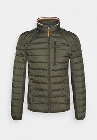TOM TAILOR - HYBRID JACKET - Light jacket - shadow olive - 0
